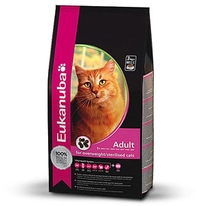 Cheap Eukanuba Adult Cat Overweight/Sterilised Weight Control 1.5kg