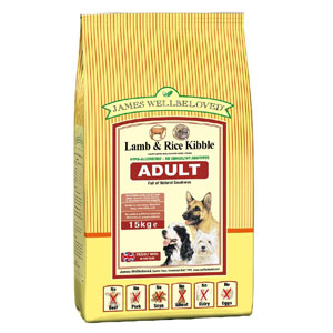 Cheap James Wellbeloved Adult Dog Lamb & Rice 7.5kg