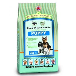 Cheap James Wellbeloved Puppy Duck & Rice 7.5kg