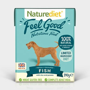 Cheap Naturediet Feel Good Fish with Rice & Potato 18 x 390g