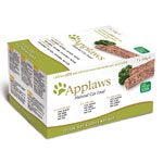 Applaws Cat Pate Multi Pack Green 7 x 100g