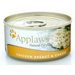 Applaws Chicken Breast with Cheese Tin 24 x 156g