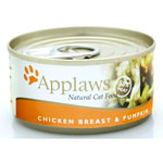 Applaws Chicken Breast with Pumpkin Tin 24 x 156g