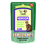 James Wellbeloved Senior Cat Pouch Lamb 12 x 85g