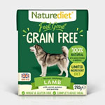 Naturediet Feel Good Grain Free Lamb with Vegetables 18 x 390g